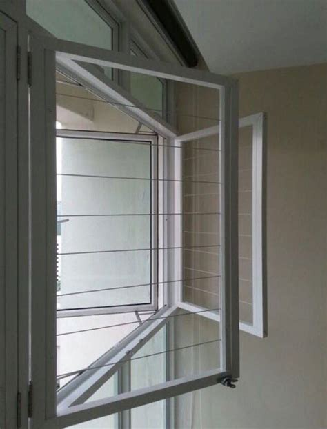swing window openable casement window invisys invisible grille