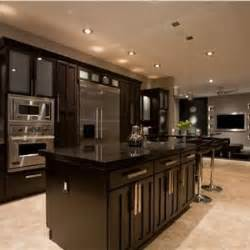this kitchen is gorgeous the espresso colored cabinets