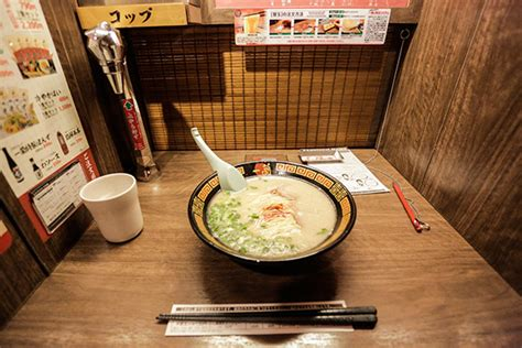 Ichiran Ramen ichiran ramen how to order the bowl wander the map