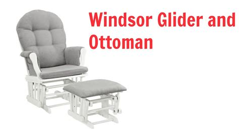 Windsor Glider And Ottoman Review Best Nursery Glider