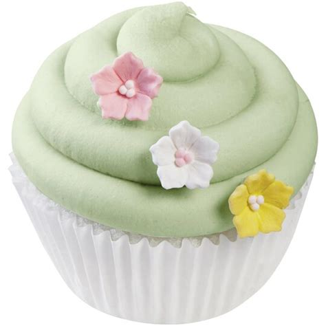 buy  wilton mini icing decorations pastel flower candy  michaels
