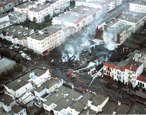 san francisco map pre 1989 loma prieta earthquake 1989 photos san francisco