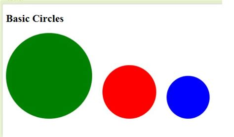 Creating Css Circle | css3 circles how to create circles using css3 border radius