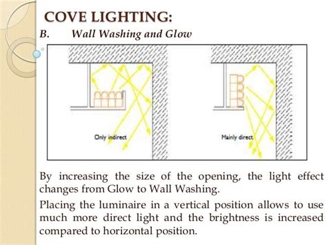 cove lighting detail search details