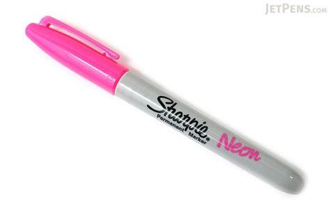 Sharpie Point Neon Permanent Marker sharpie neon permanent marker point pink