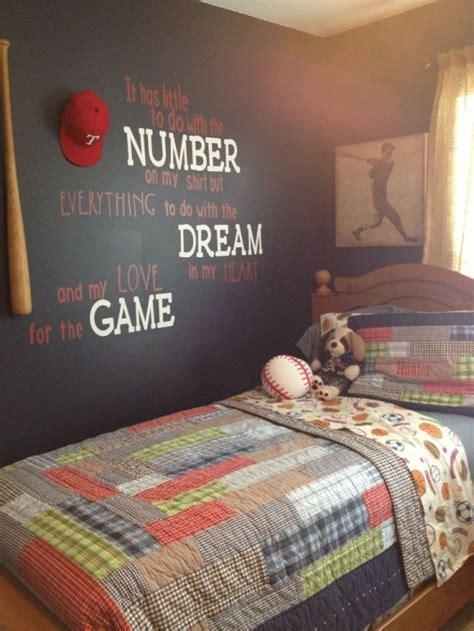 softball bedroom ideas best 25 boy sports bedroom ideas on pinterest kids