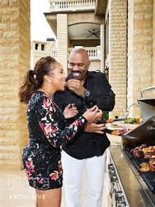 Steve harvey and marjorie harvey on their blended family people com
