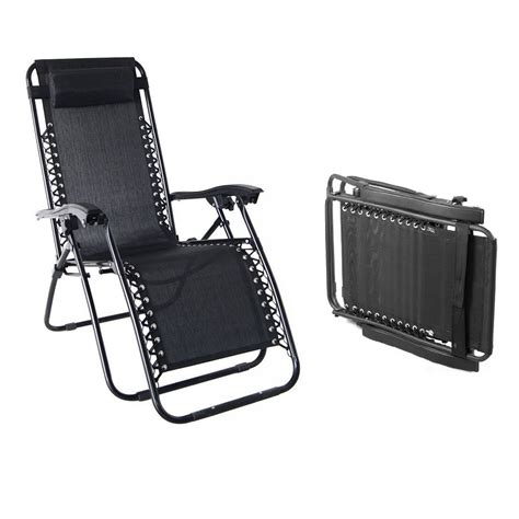 2 chairs zero gravity chair folding recliner utility tray