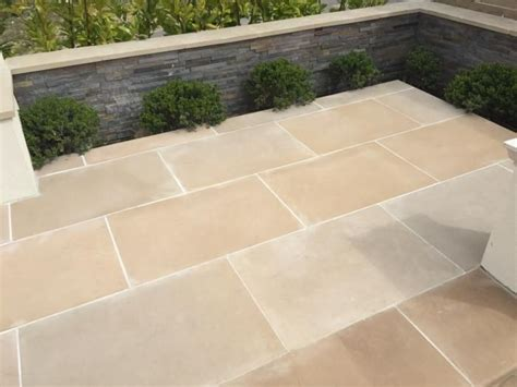 sandstone paving ideas  pinterest