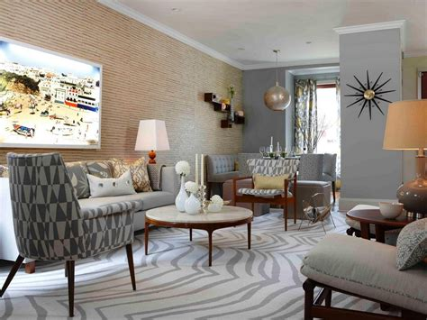 modern retro home decor mid century modern living room ideas to beautifully blend
