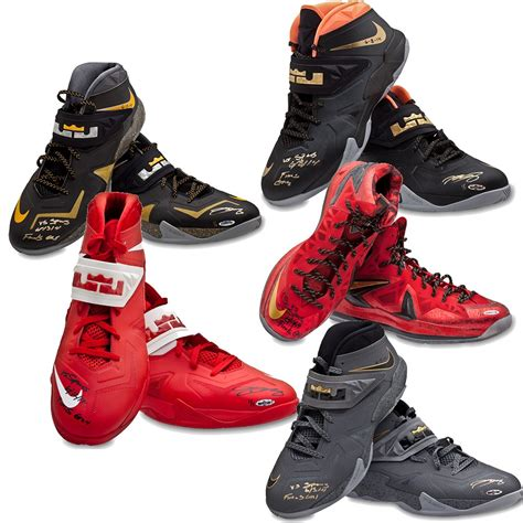 lebron james shoes for 125k you can own every nike sneaker lebron james
