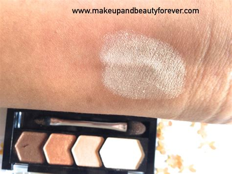 Eyeshadow Quads For Brown maybelline eyestudio glow eye shadow 01 copper brown review swatches price and