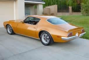 73 Pontiac Firebird Clean 1973 Pontiac Firebird Amcarguide American