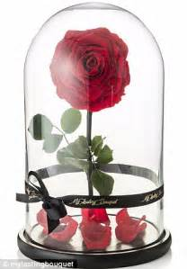 roses that last forever my lasting bouquet creates beauty and the beast inspired rose that lasts for one year daily