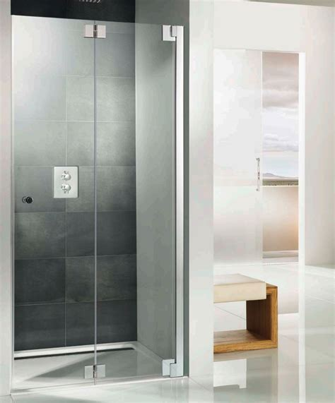 Hsk Shower Doors Hsk K2p Recess Pivoting Bi Fold Shower Door 760 X 2000mm