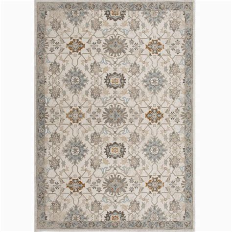 5 x 7 area rugs 100 home dynamix bazaar luminous ivory 5 ft 2 in x 7 ft 2