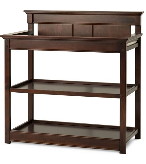 Child Changing Table Child Craft Bradford Changing Table In Select Cherry