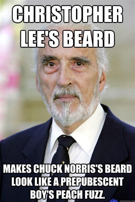 Chuck Norris Beard Meme - chuck norris with no beard memes