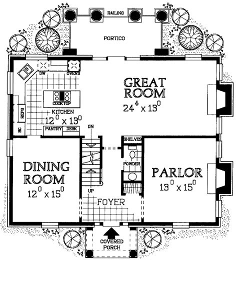 revival house plans floor plans aflfpw20957 2 revival home with