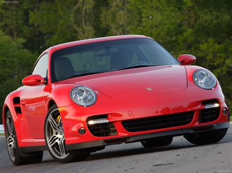Red Porsche Turbo by 2007 Red Porsche 911 Turbo Wallpapers