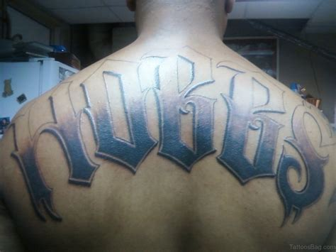 tattoo name on back 84 best name tattoos on back