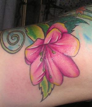 azalea tattoo designs azalea flower tattoos