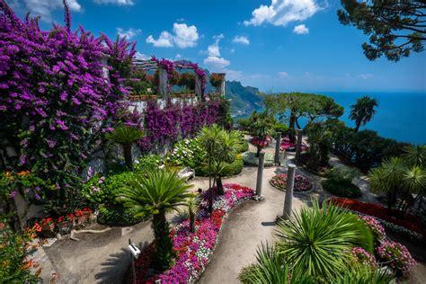 giardino dei limoni ravello giardini di villa rufolo ravello costiera amalfitana