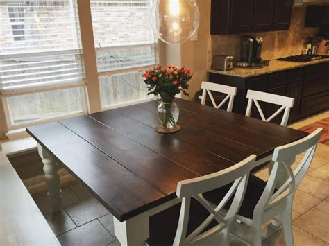 diy farmhouse table plans   outdoor seating