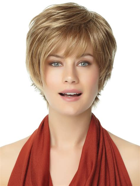 inexpensive wigs for women with round faces shag wigs for round faces short hairstyle 2013