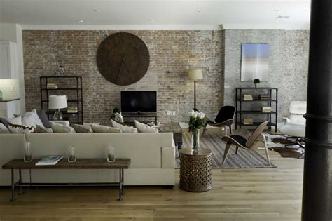 living room warehouse spice warehouse tribeca loft living room industrial living room new york by marie burgos