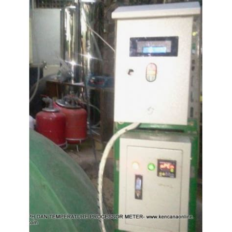 Alat Pengukur Ph Kompos pengukur suhu dan ph digester
