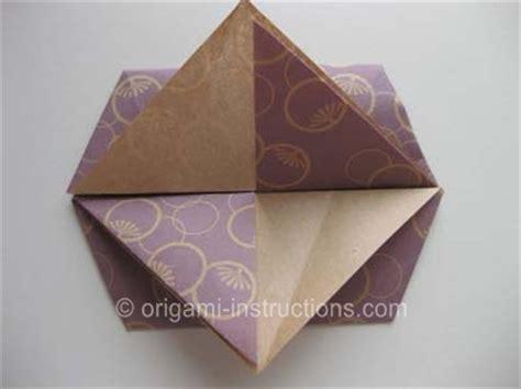 Origami Flat Box - origami tato folding how to fold a origami