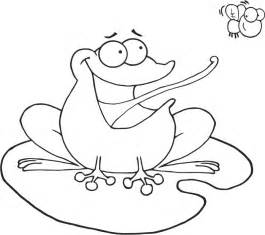 free g frog coloring pages