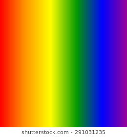 what color is the rainbow color of rainbow rainbow