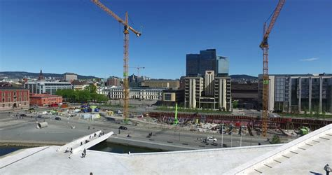 Garden City Terminal Tracking by Alnabru Terminal Oslo March 18 2014 Time Lapse