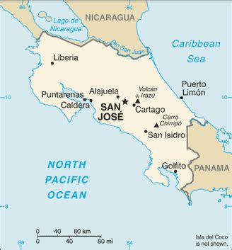 san jose costa rica map pdf city maps