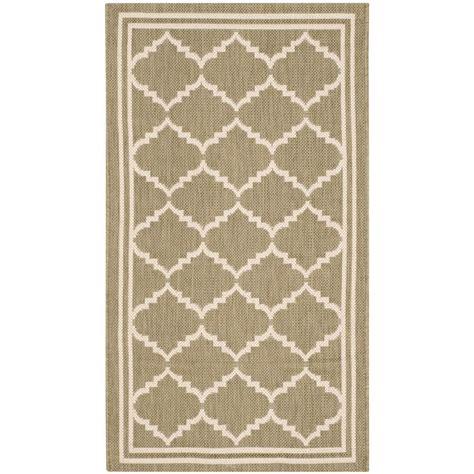 2 x 3 outdoor rug safavieh courtyard green beige 2 ft x 3 ft 7 in indoor outdoor area rug cy6889 244 2 the
