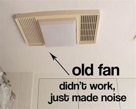 bathroom ventilation fan replacement my bathroom exhaust fan didn t work and i find out why