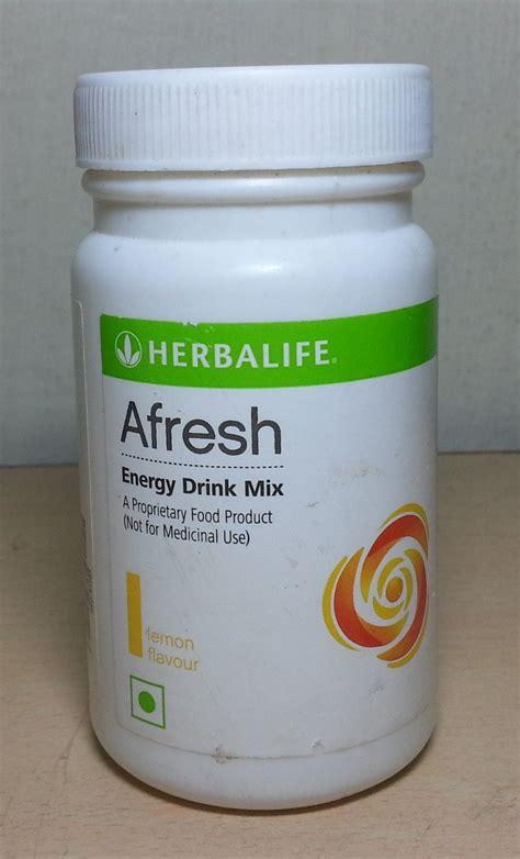 Teh Energi Herbalife herbalife afresh energy drink review herbalife afresh