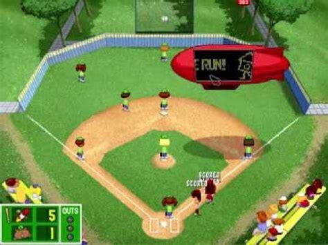 lets play backyard baseball pc 1997 part 24 baseball