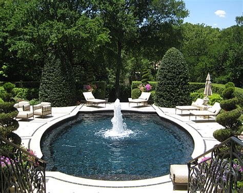 Pool Garden by Cool And Fabulous Pool Terrace Design Ideas