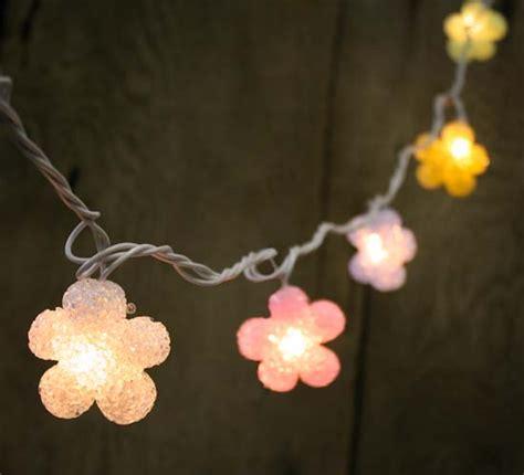 Pastel Flowers Electric String Lights Lighting Electric String Lights