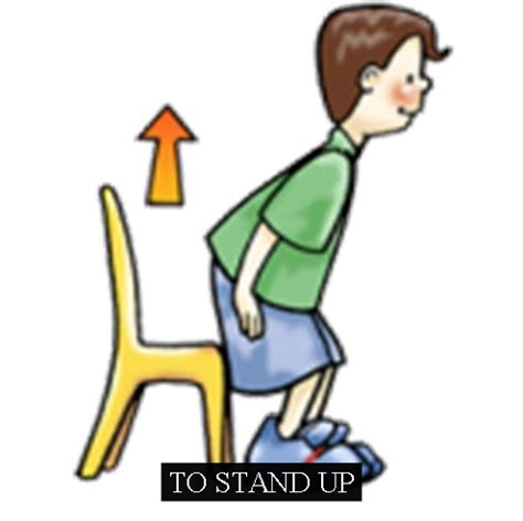imagenes en ingles stand up a fun and easy way to remember to stand up in english