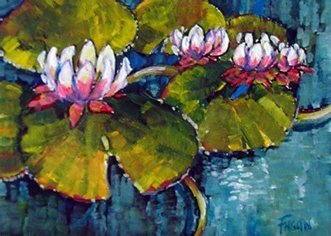 gambar bersuara catan motif bunga media akrilik