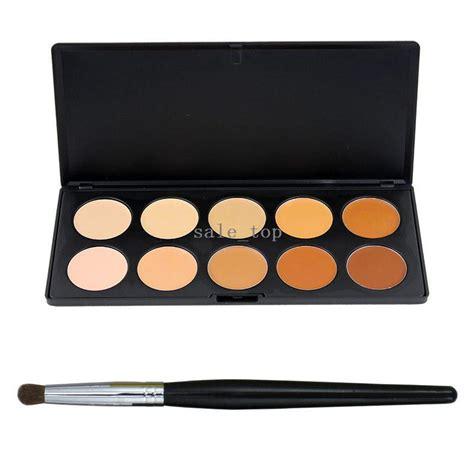 Sale 10 Warna 10 Colours Contour sixplus professional makeup palette set cosmetic palette kit camouflage concealer tool contour