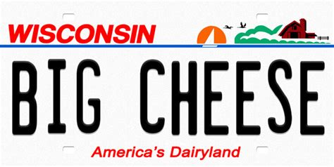 Wisconsin Vanity Plates by Wisconsin License Plate License Tag Novelty License