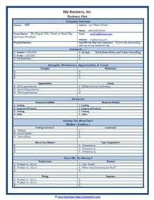 corporate template 25 best ideas about business plan sle on