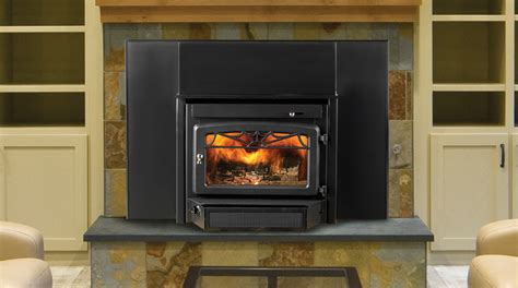 Fireplace With Wood Burner by Wood Inserts Harding The Fireplace