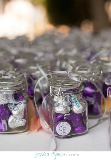 wedding favors ideas best photos   Favors, Kiss and Purple