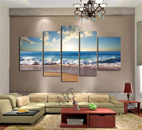 framed canvas print large home decor wall art seascape